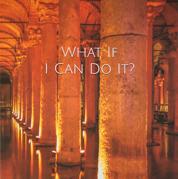 Basilica Cistern | Large Blank Writing Journal