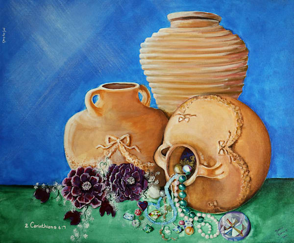 """Jars And Gems"" by Sonia Farrell 