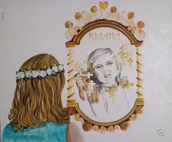 """""""Mirror Mirror - Now And Then"""" by Sonia Farrell 