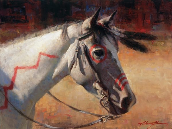 Horse Painting | Native American Art | Strong Medicine