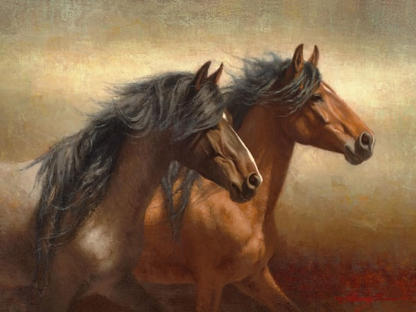 Horse Painting | Southwest Art Gallery Tucson | Untamed