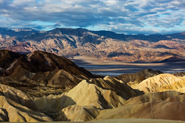Morning Light Over Death Valley National Park Photograph For Sale As Fine Art