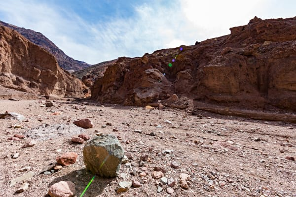 Trail To Natural Bridge In Death Valley Photograph For Sale As Fine Art