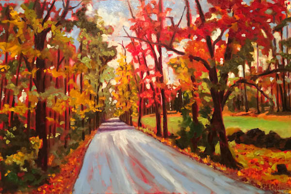 Profusion of Changing Color | Original Fall Painting
