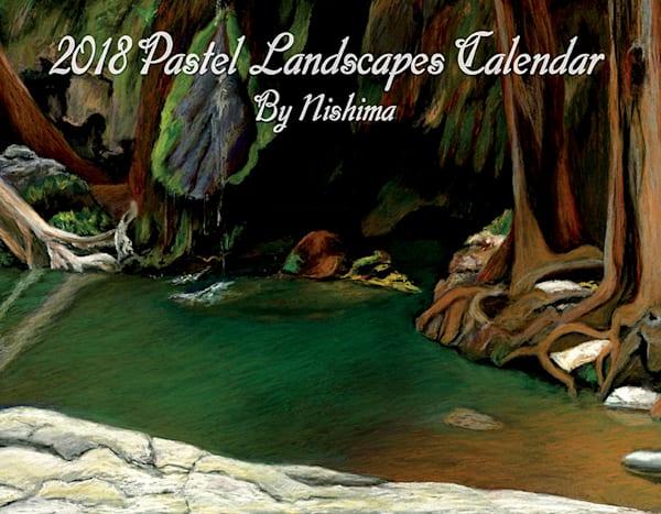 2018 Pastel Landscapes Calendar