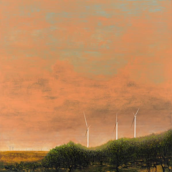 landscape-art, wind-art, wind farm-art, wind turbine-art