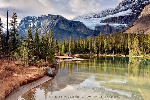 Crowfoot Glacier Photography Art | Swan Valley Photo
