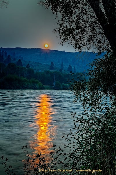 Setting Sun Photography Art | Swan Valley Photo
