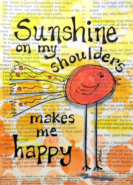 Sunshine on my Shoulders Art for Sale