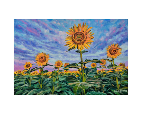 Rise and Shine Sunflower State Painting