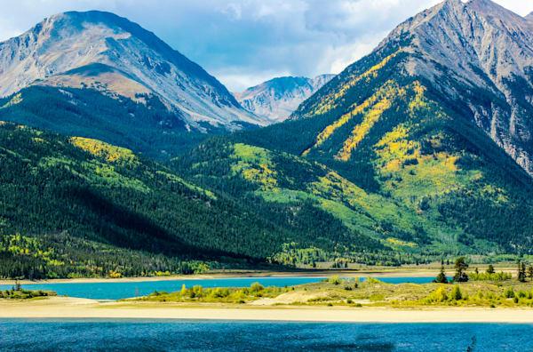 Colorado rocky mountains in autumn for sale as art