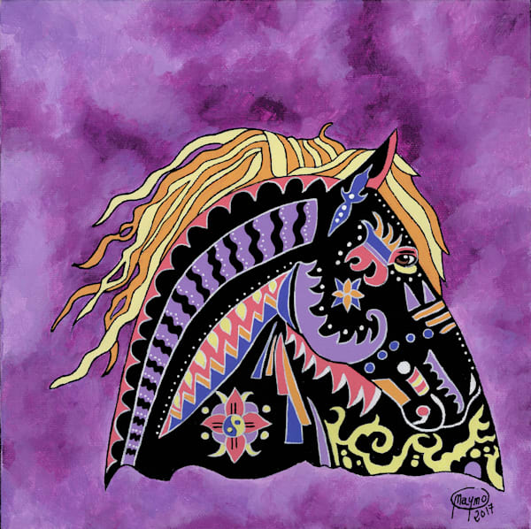 Mane In The Wind Art for sale