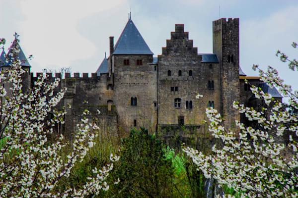 Carcassonne Castle, France, available for sale as fine art.