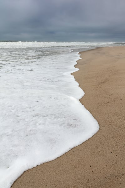 """Cisco Beach Incoming Wave"" Fine Art Nantucket Seascape Photography"