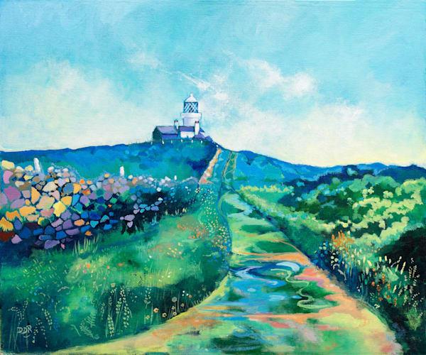 Caldey Island Lighthouse Print Denise Di Battista