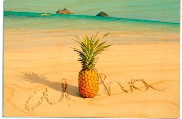 Birchwood Postcards | Pineapple Sand