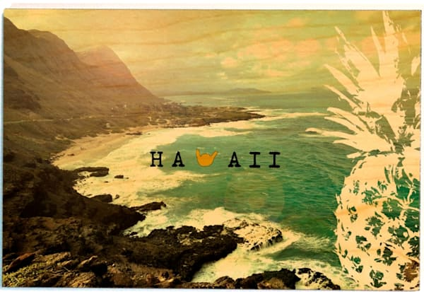 Birchwood Postcards | Shaka Hawaii