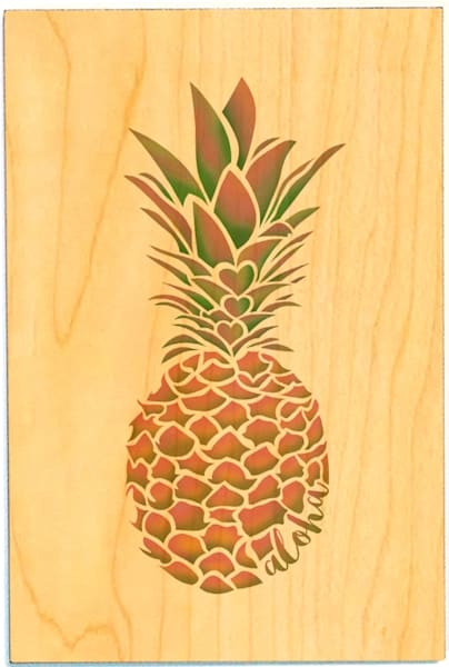 Birchwood Postcards | Pineapple in Love