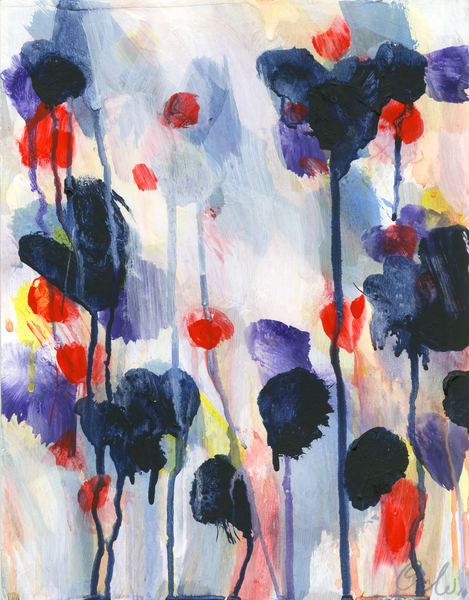 Wildflowers Iii Art | Caroline Wright Art