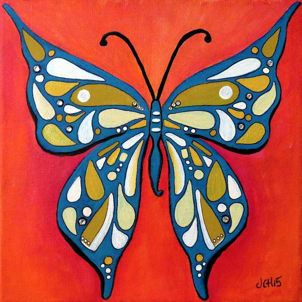 Funky Butterfly Art for Sale
