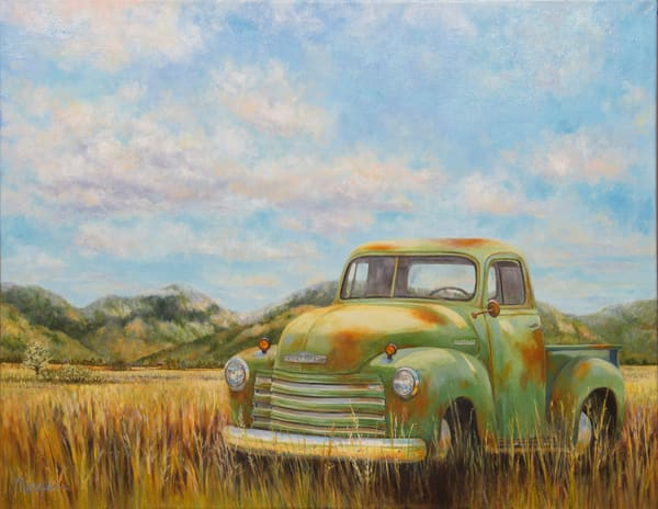 WENDY MARQUIS FINE ART PAINTINGS | TRUCKS