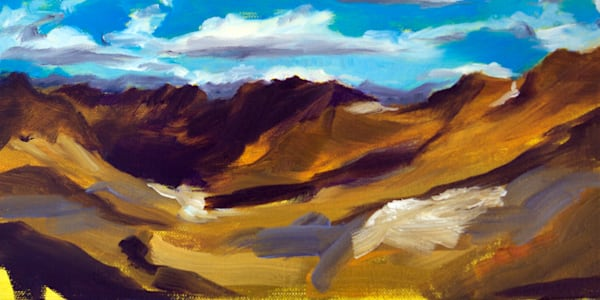 From Zugspitze painting by Paul William | Art for Sale