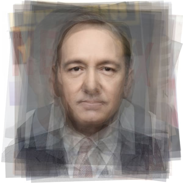 Overlay art – contemporary fine art prints of Kevin Spacey