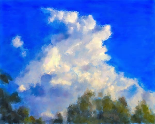 I Look at the Heavens painting from Psalms by artist Christina Stefani. Stefani Fine Art-prints on paper, metal, canvas and more.