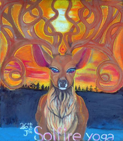 Mystic Deer- Solfire Yoga (2016)
