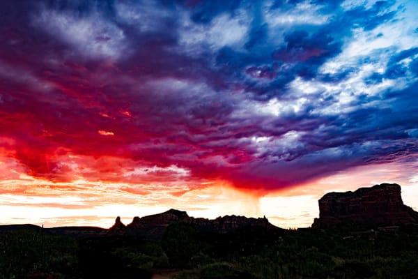 Sedona Sunset Sky