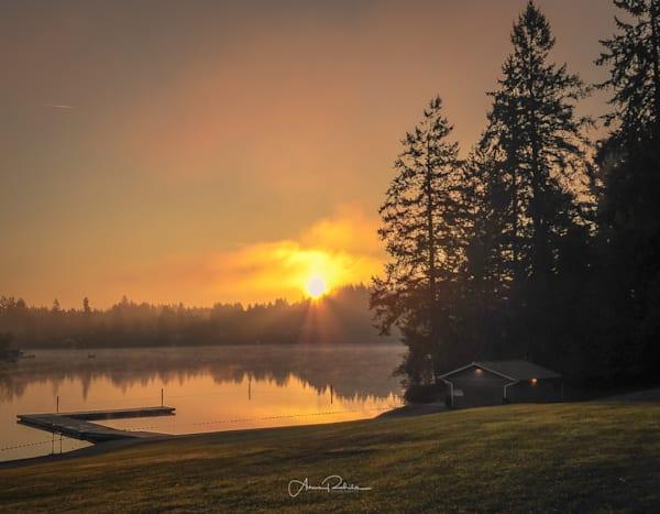 Sunrise at Long Lake Park