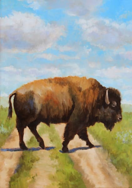 Buffalo Road Greeting Card