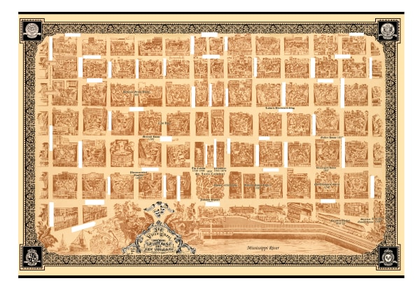Historical Maps by Blaise Domino | French Quarters