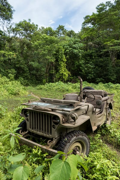 1942 Jeep Willy, Solomon Islands