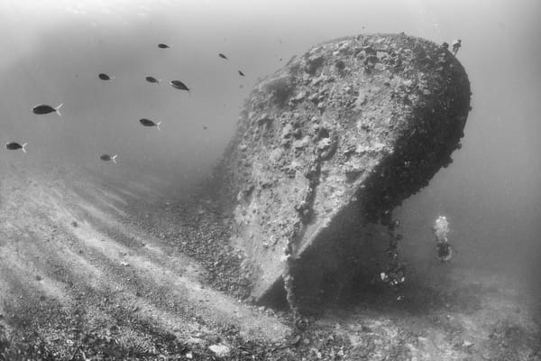Kashi Maru Shipwreck, Solomon Islands