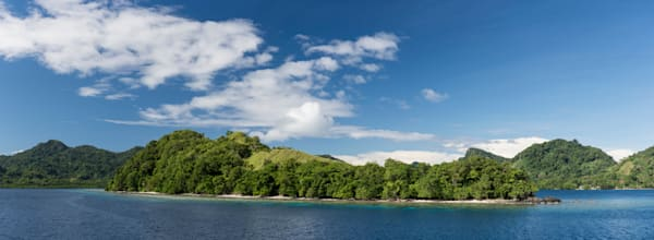 Tulagi Switzer Island Pano, Solomon Islands