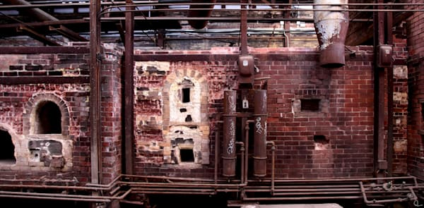 photographs, gears, machinery, kilns, industry art prints-for-sale, Michael Toole