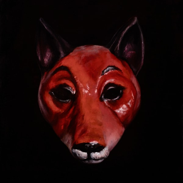 Fox Mask - custom size print
