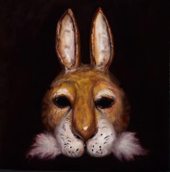 Hare Mask - custom size print