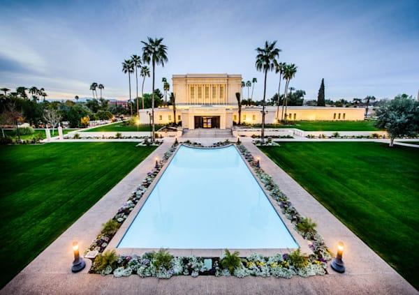 Mesa Temple - Full Pool