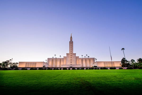 Los Angeles Temple - From the Front
