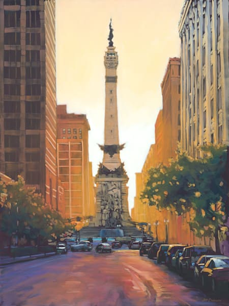 Good Morning Indy -  by Jed Dorsey