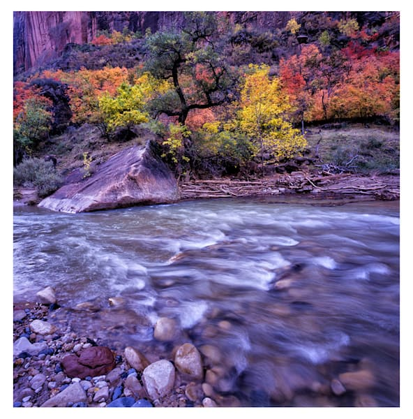 Autumn in Zion – Hand-Signed  Edition