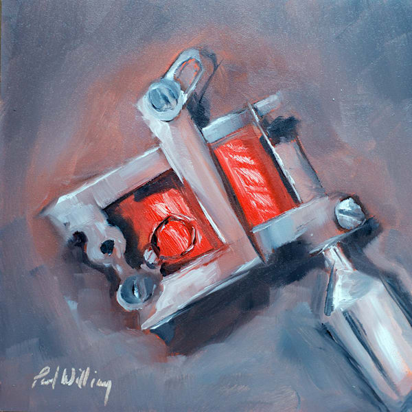 Tattoo Machine painting by Paul William | Fine Art for Sale