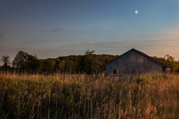Barn And Moon Photography Art | Sage & Balm Photography