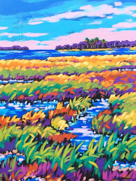 Outgoing Tide Art | Sally C. Evans Fine Art