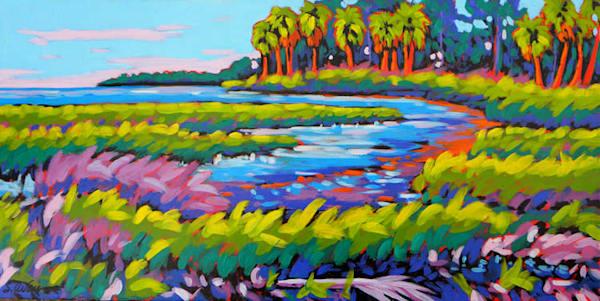 Low Country Glow Art | Sally C. Evans Fine Art