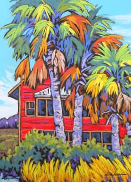 Southern Cottage Art | Sally C. Evans Fine Art