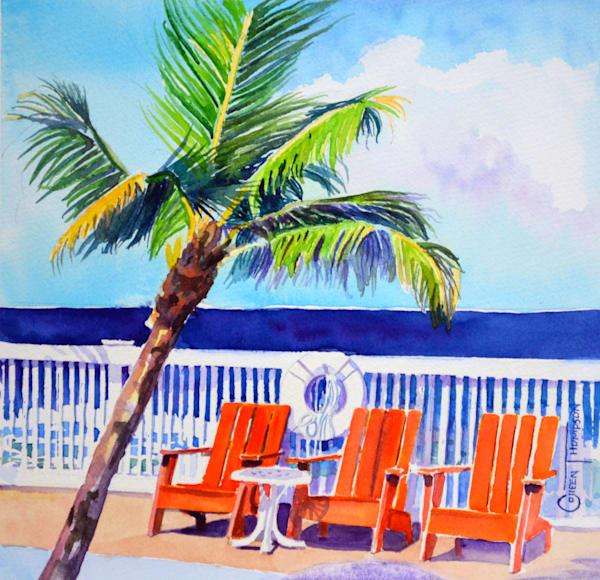 Orange Beach Chairs