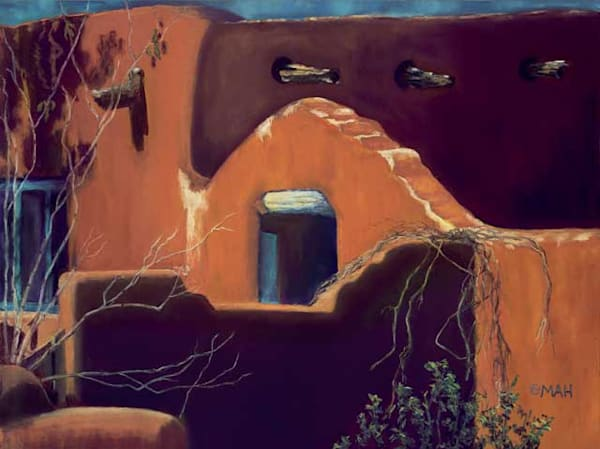 Cam's Casa Bonita print by Mary Anne Hill.